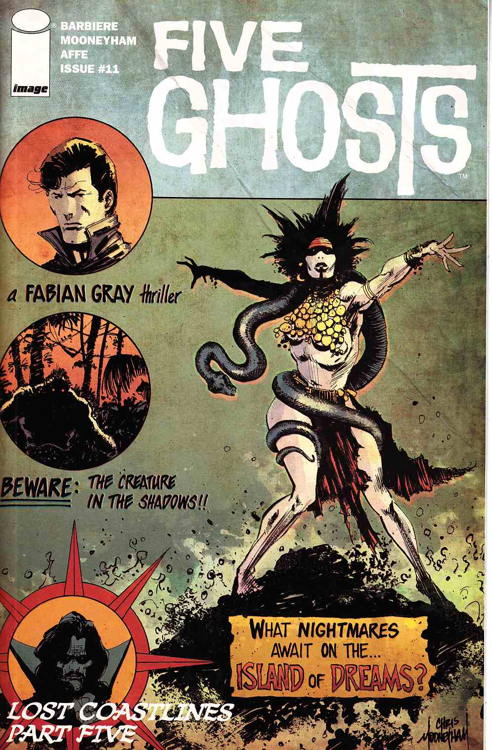 Five Ghosts #11 [Image Comic] THUMBNAIL