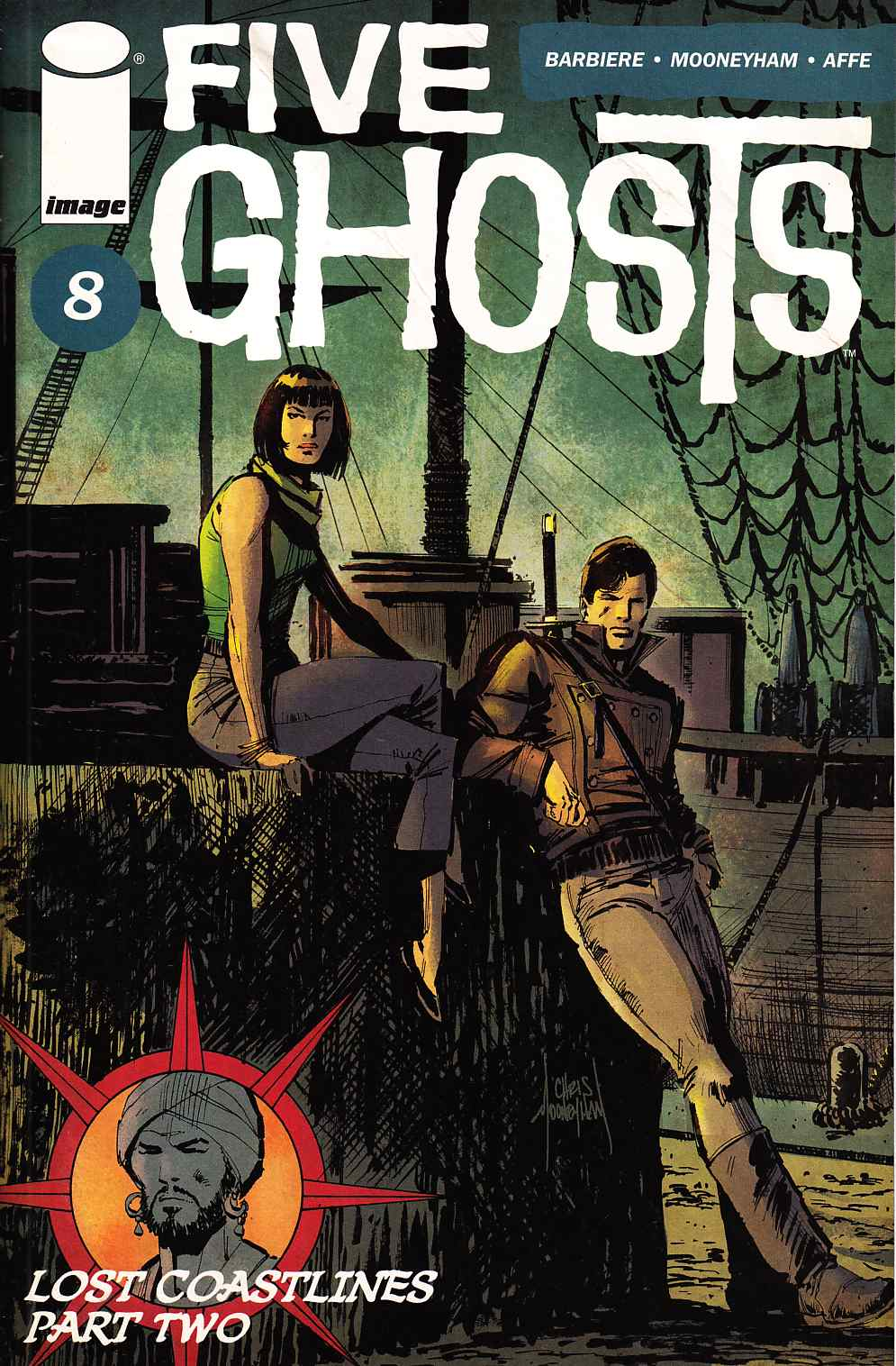 Five Ghosts #8 [Image Comic] THUMBNAIL