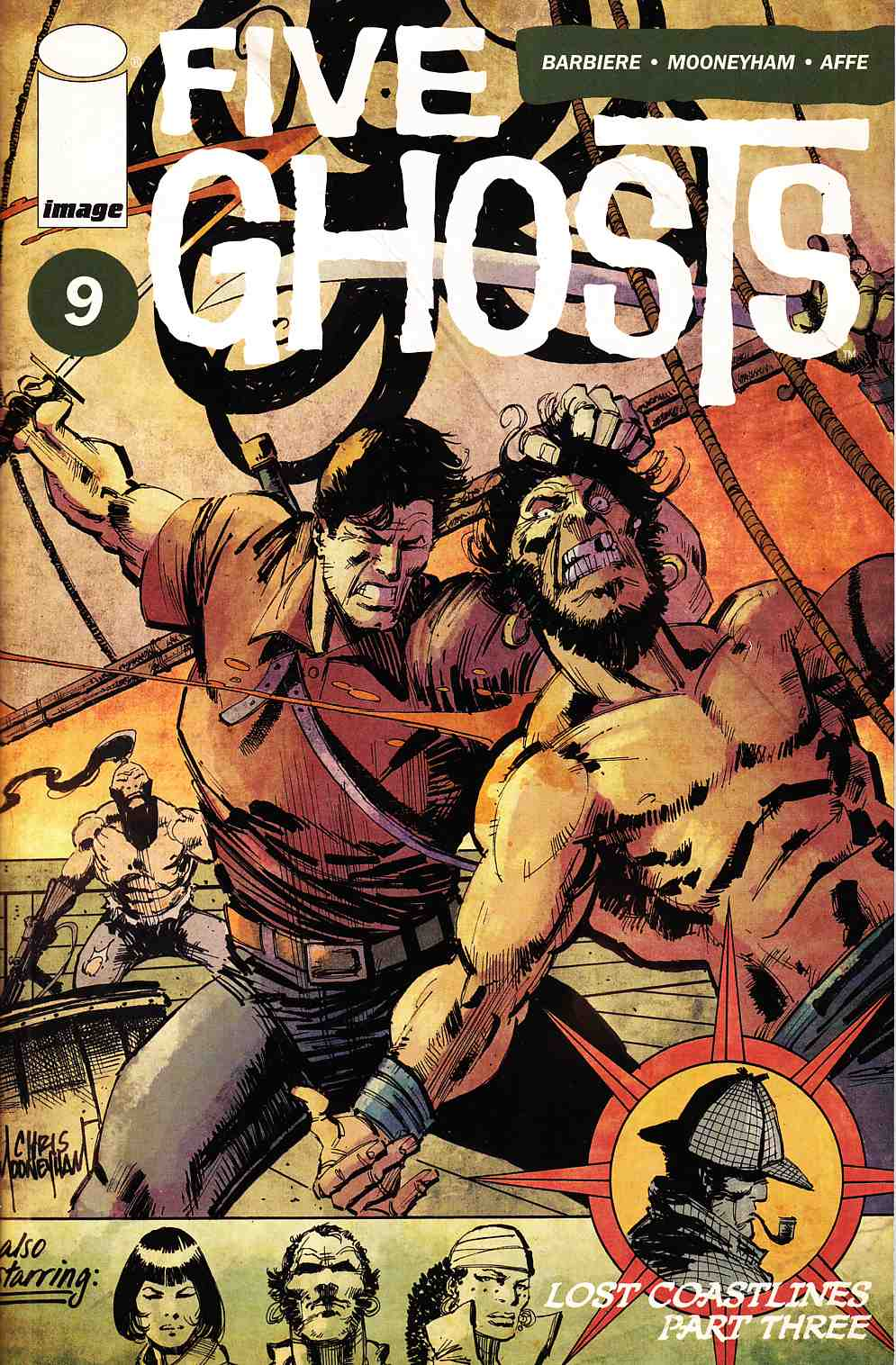 Five Ghosts #9 [Image Comic] LARGE