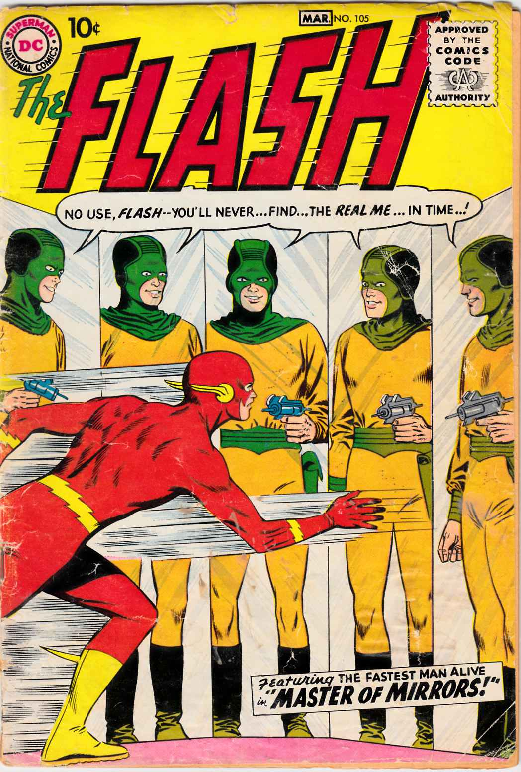 Flash #105 Good (2.0) Restored [DC Comic]