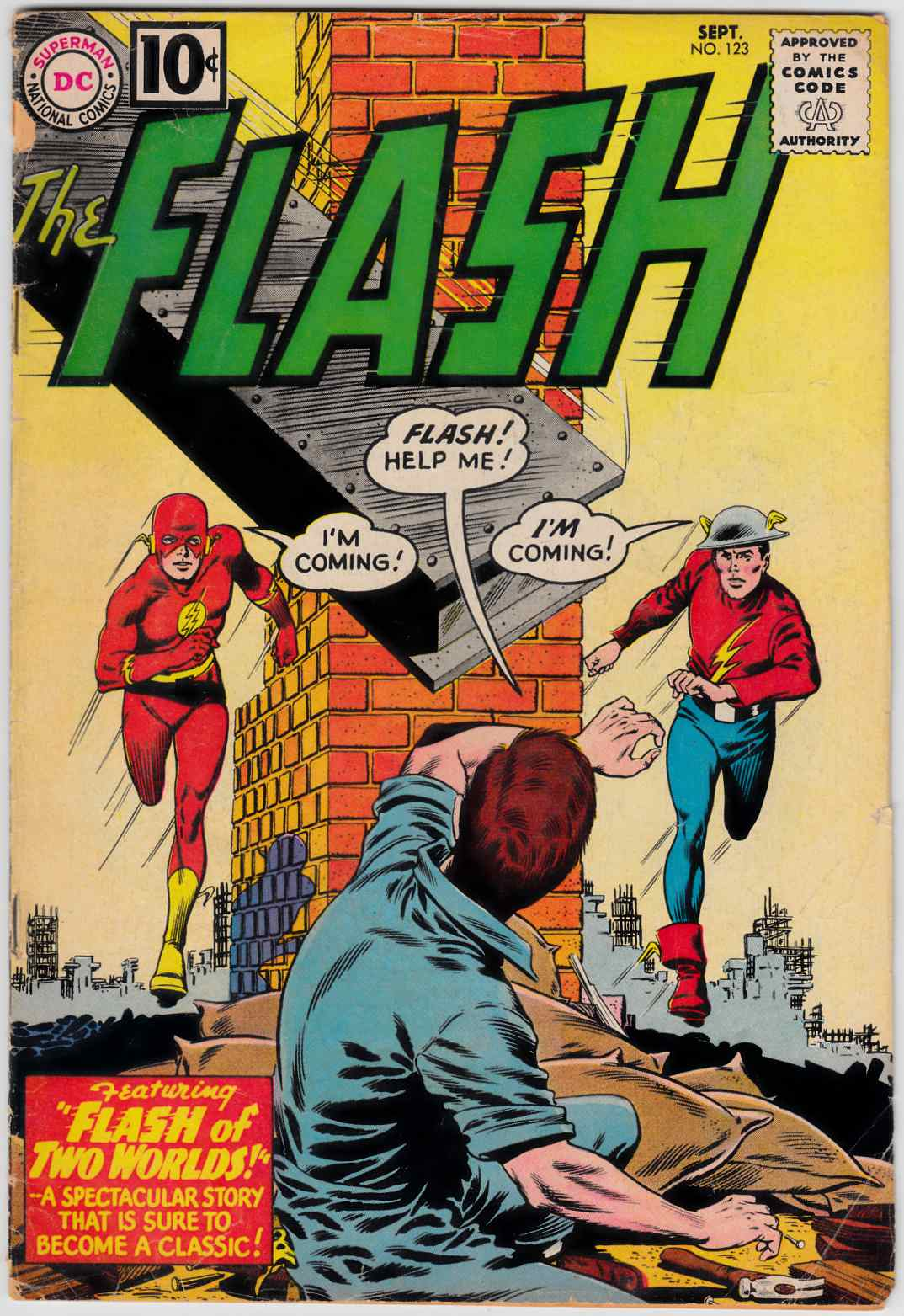 Flash #123 Very Good Minus (3.5) [DC Comic]