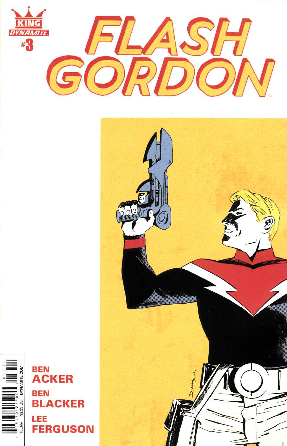 King Flash Gordon #3 [Dynamite Comic]