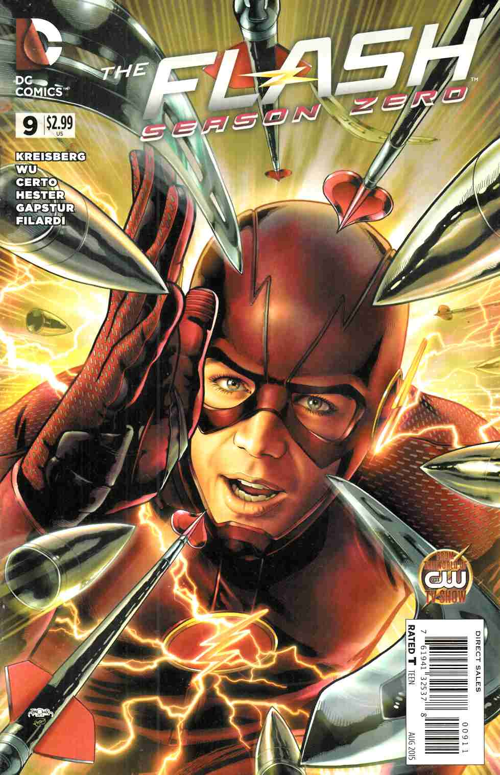 Flash Season Zero #9 [DC Comic] LARGE