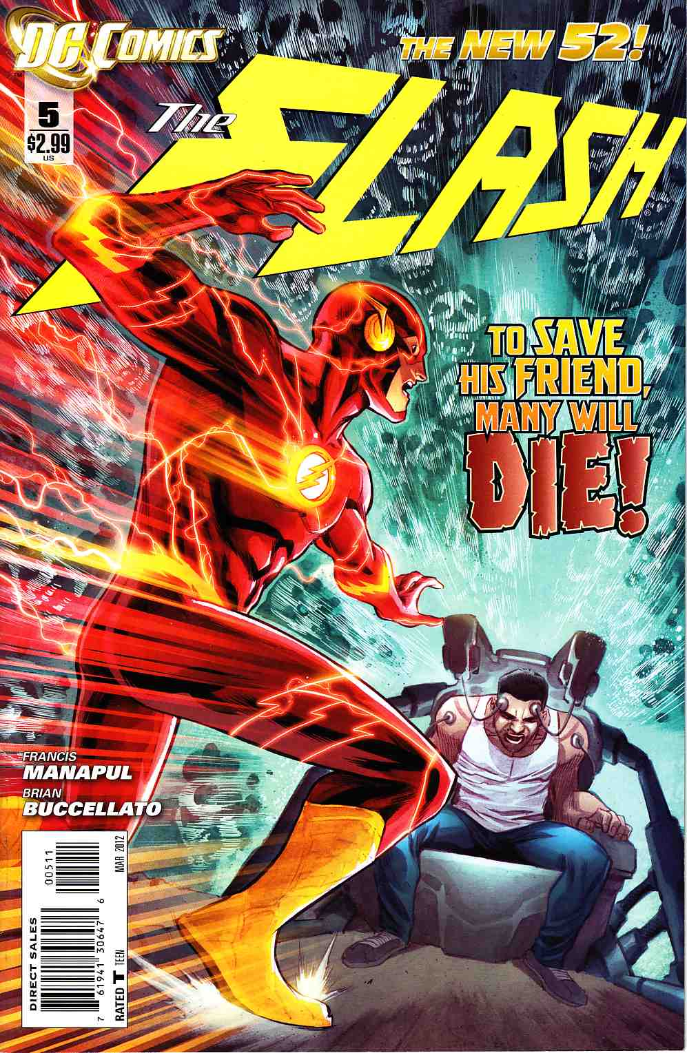 Flash #5 [DC Comic] THUMBNAIL