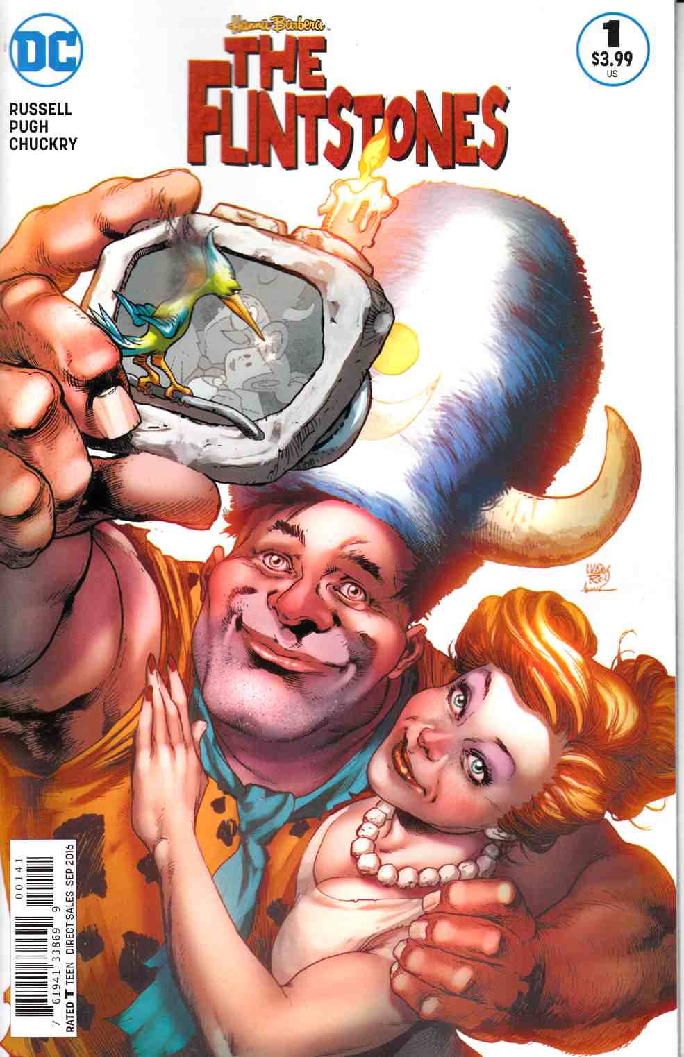 Flintstones #1 Fred & Wilma Variant Cover [DC Comic] THUMBNAIL