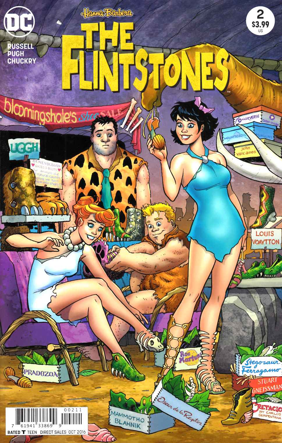 Flintstones #2 [DC Comic] LARGE