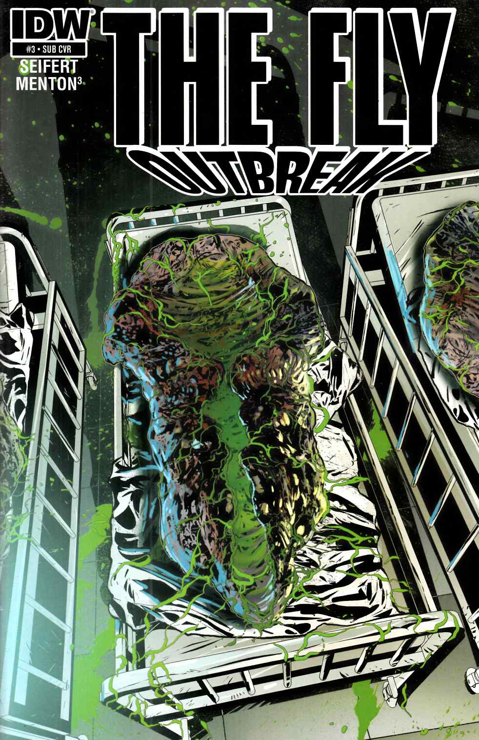 Fly Outbreak #3 Subscription Cover [IDW Comic] THUMBNAIL