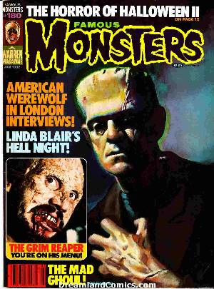 Famous monsters of filmland #180