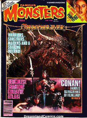 Famous monsters of filmland #184 LARGE