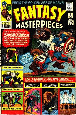 Fantasy Masterpieces #4 [Marvel Comic] LARGE