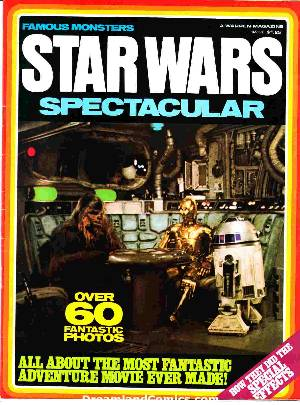 Famous monsters: star wars spectacular #1
