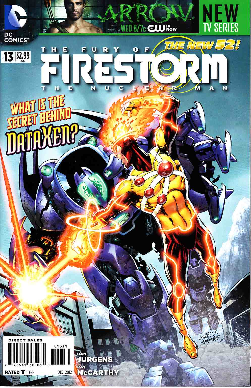 Fury Of Firestorm The Nuclear Man #13 [DC Comic] LARGE