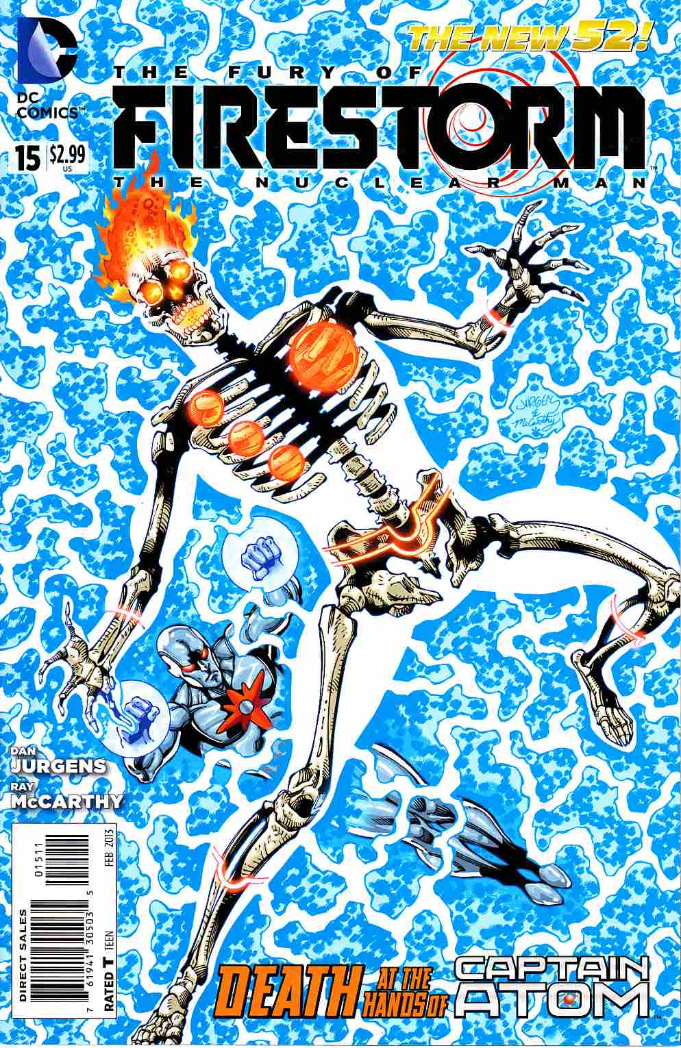 Fury of Firestorm the Nuclear Man #15 [DC Comic] THUMBNAIL