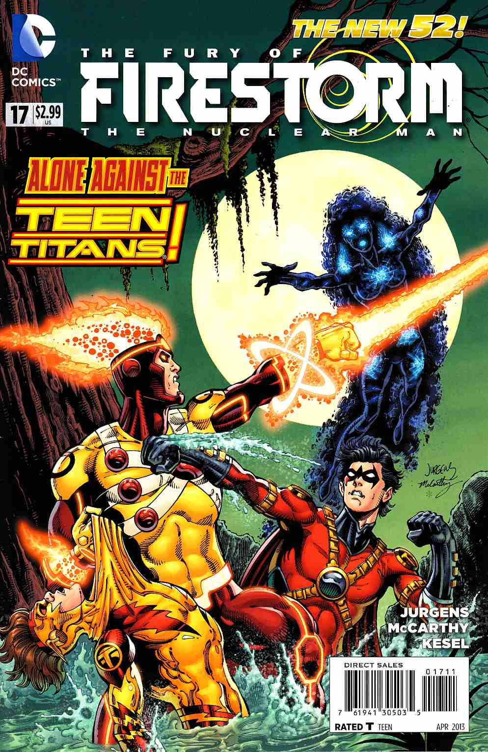 Fury of Firestorm the Nuclear Man #17 [Comic] THUMBNAIL