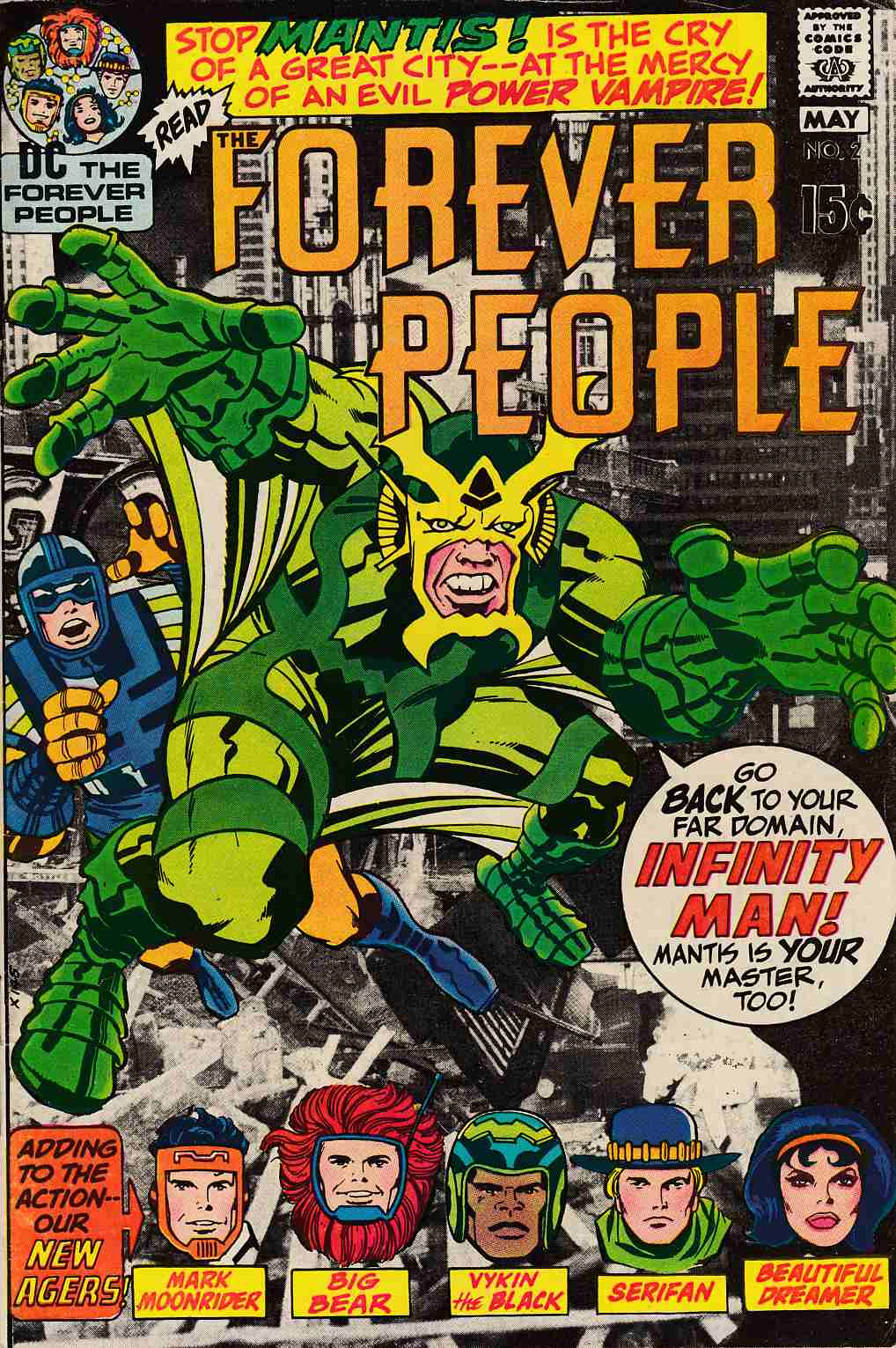 Forever People #2 Good/Very Good (3.0) [DC Comic] THUMBNAIL