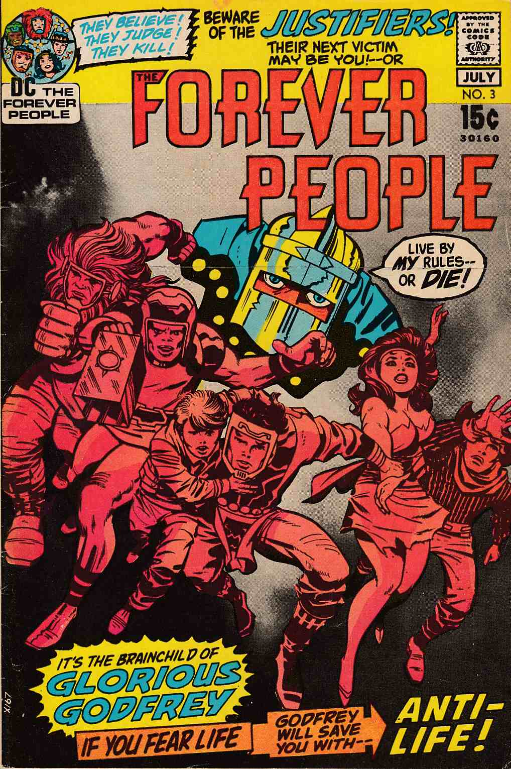 Forever People #3 Very Fine (8.0) [DC Comic]_THUMBNAIL
