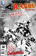 Forever Evil Argus #2 B&W Incentive Cover [Comic] THUMBNAIL