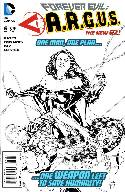 Forever Evil Argus #6 B&W Incentive Cover [Comic] THUMBNAIL