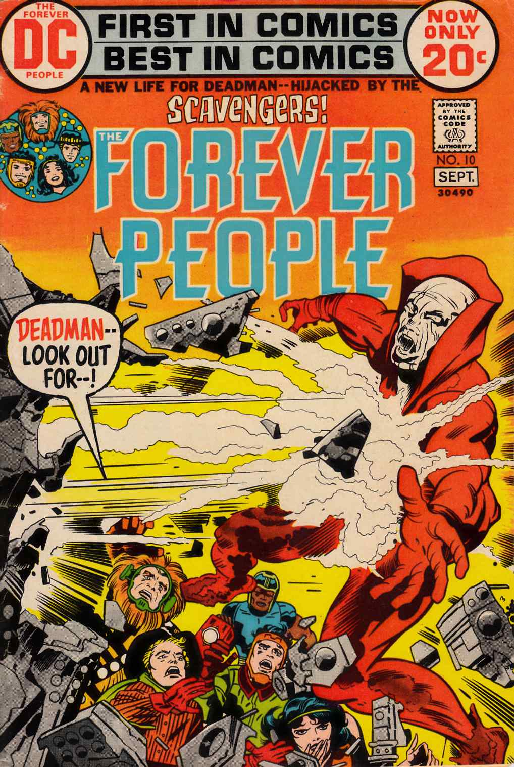 Forever People #10 Fine (6.0) [DC Comic] THUMBNAIL