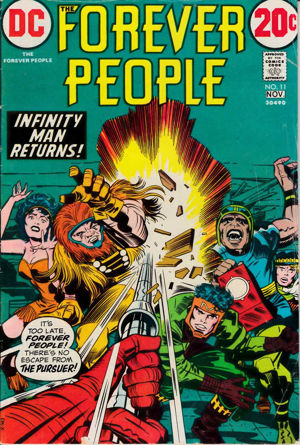 Forever People #11 Very Good (4.0) [DC Comic] THUMBNAIL