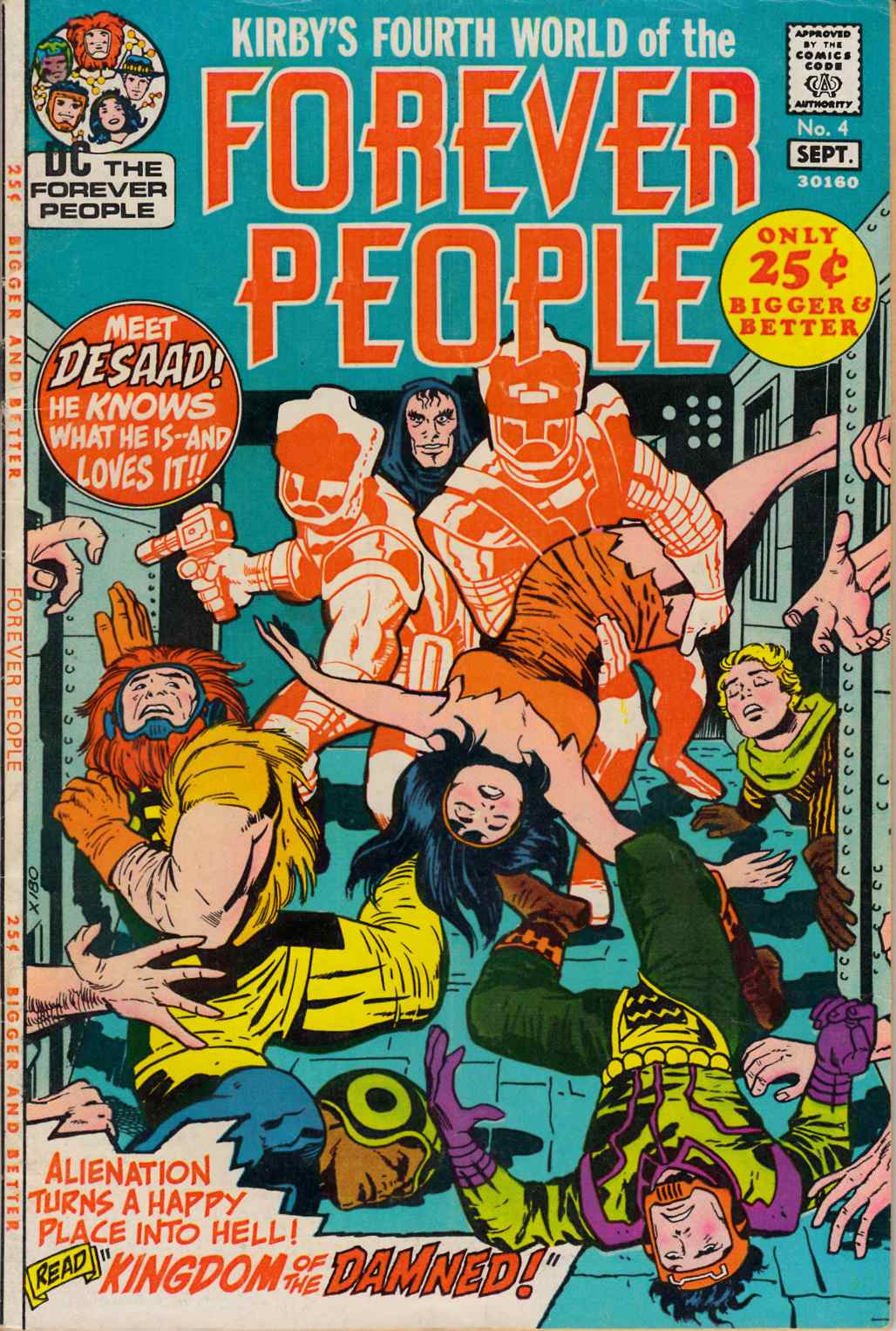 Forever People #4 Fine (6.0) [DC Comic] THUMBNAIL