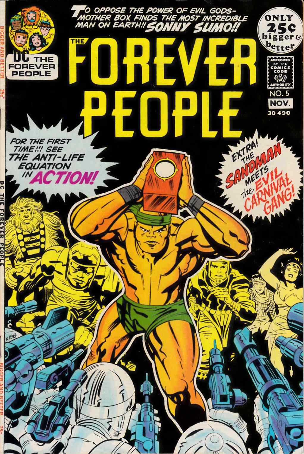 Forever People #5 Fine (6.0) [DC Comic]_THUMBNAIL