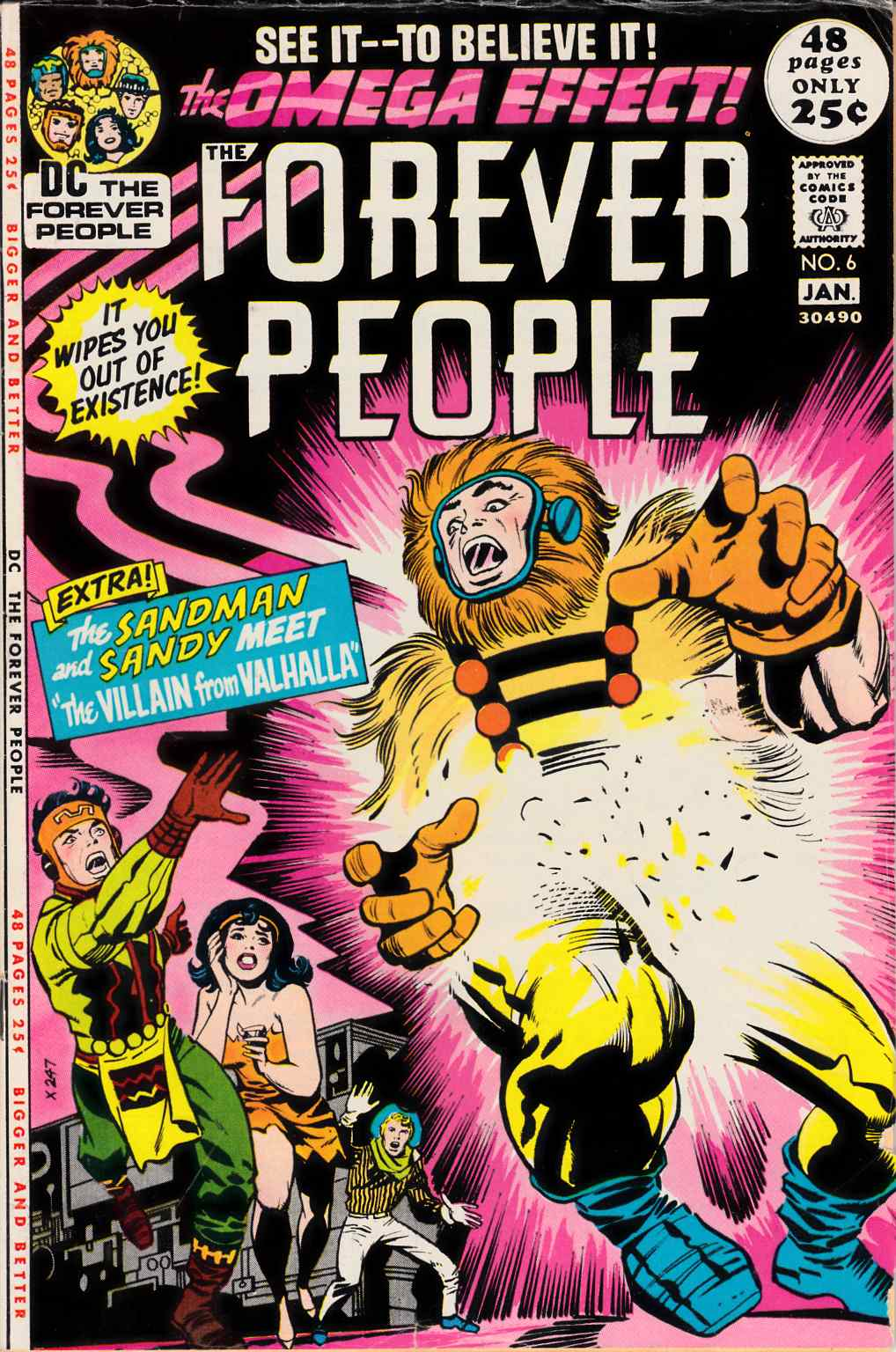Forever People #6 Very Good (4.0) [DC Comic] THUMBNAIL