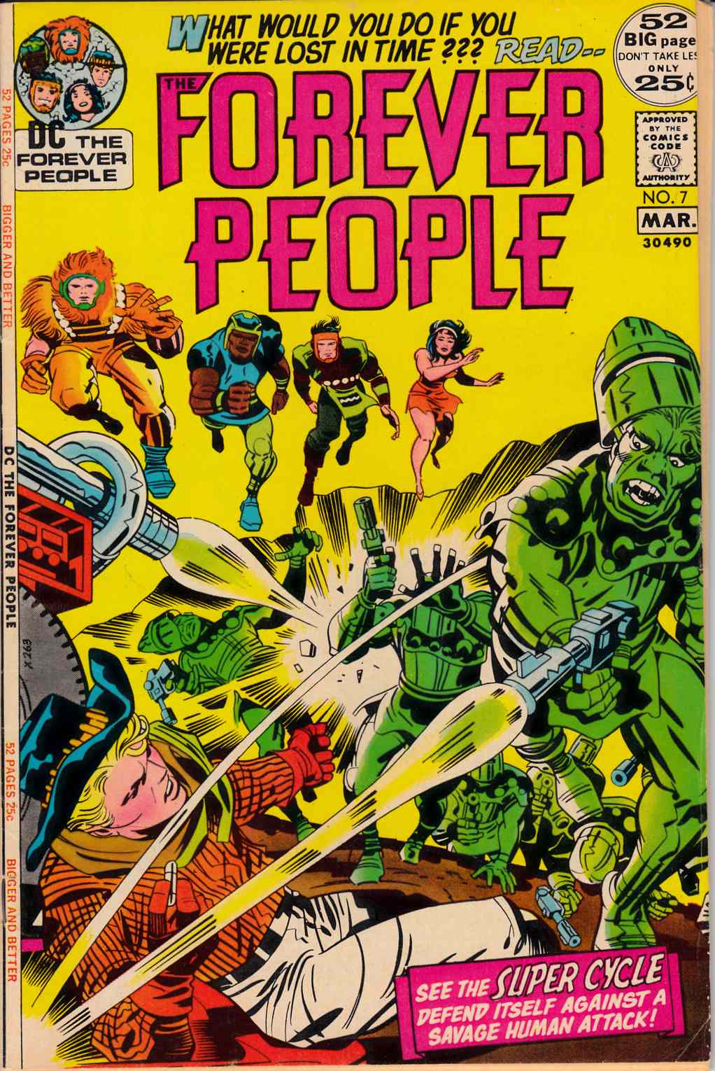 Forever People #7 Very Good Plus (4.5) [DC Comic] THUMBNAIL