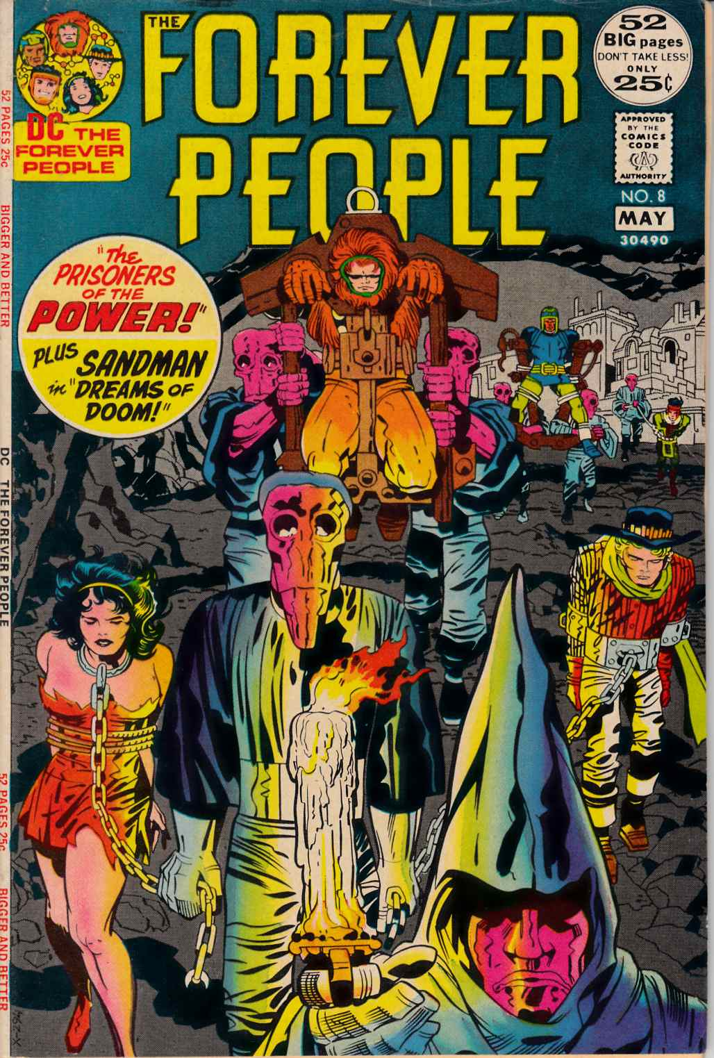 Forever People #8 Fine/Very Fine (7.0) [DC Comic] THUMBNAIL
