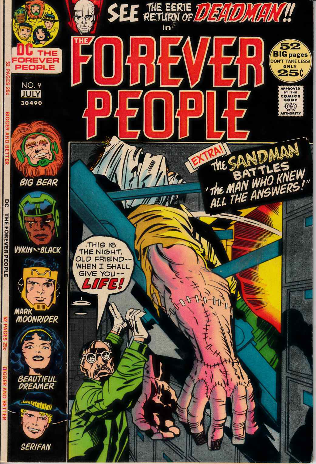 Forever People #9 Good (2.0) [DC Comic] THUMBNAIL