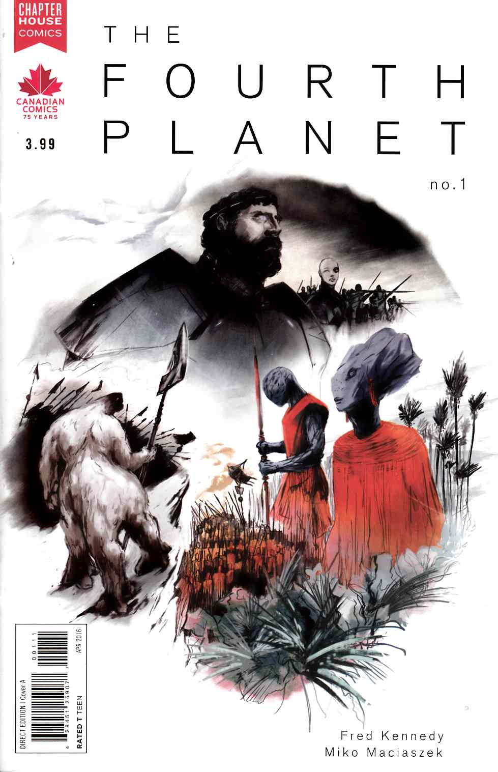 Fourth Planet #1 [Chapterhouse Comic] LARGE