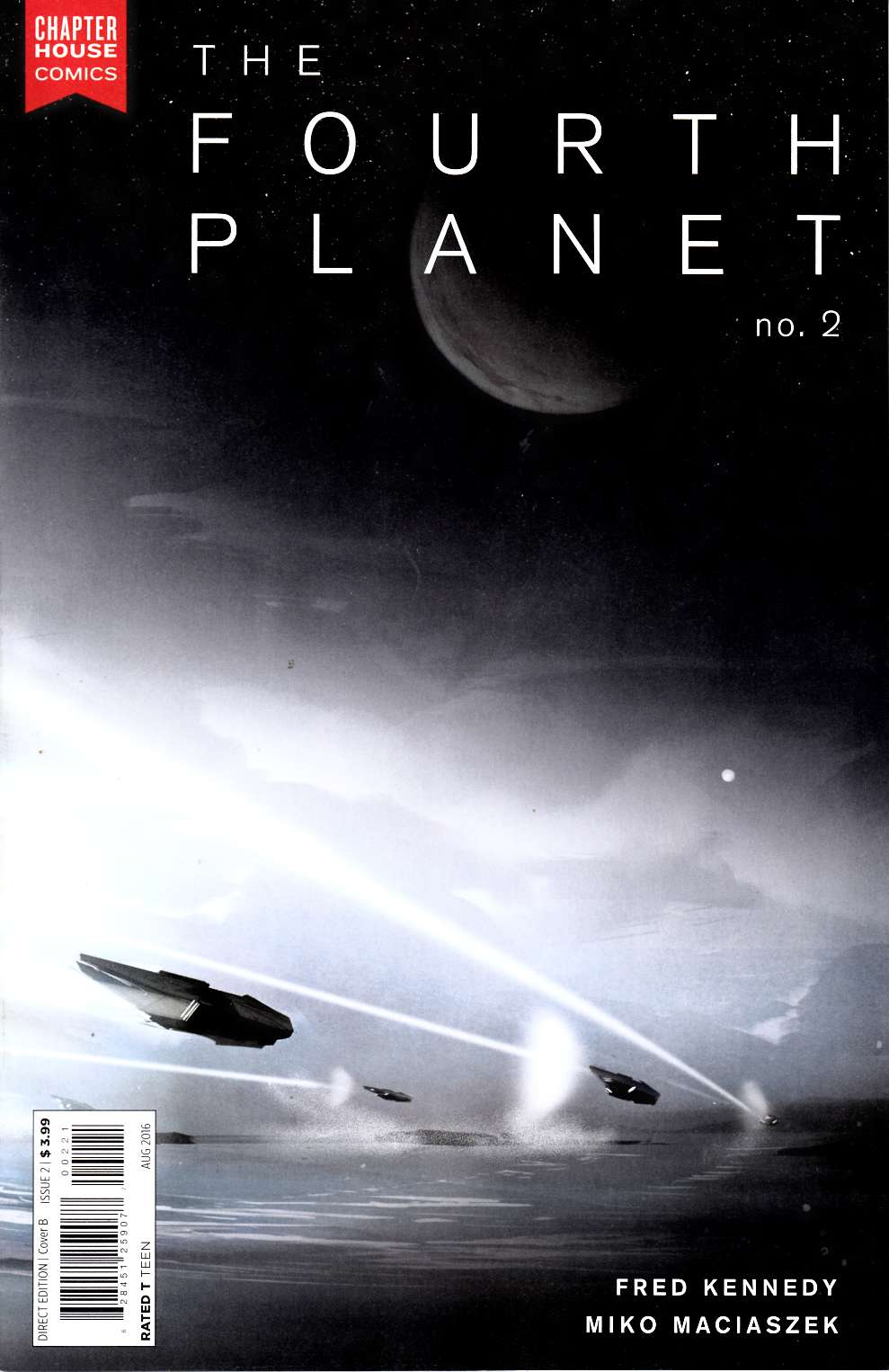Fourth Planet #2 Cover B [Chapterhouse Comic] LARGE