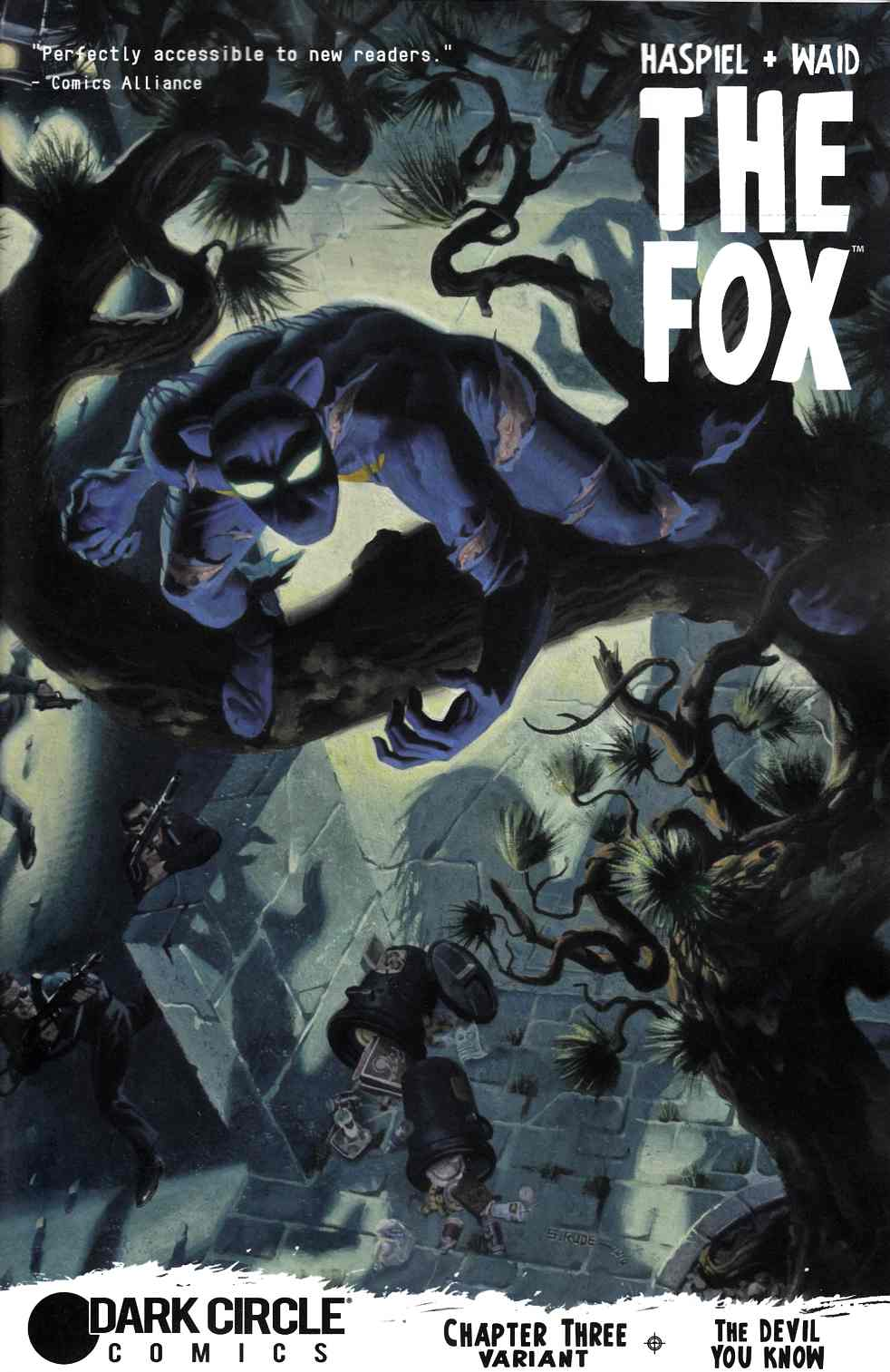 Fox (Dark Circle) #3 Steve Rude Fox Hunted Variant Cover [Archie Comic]
