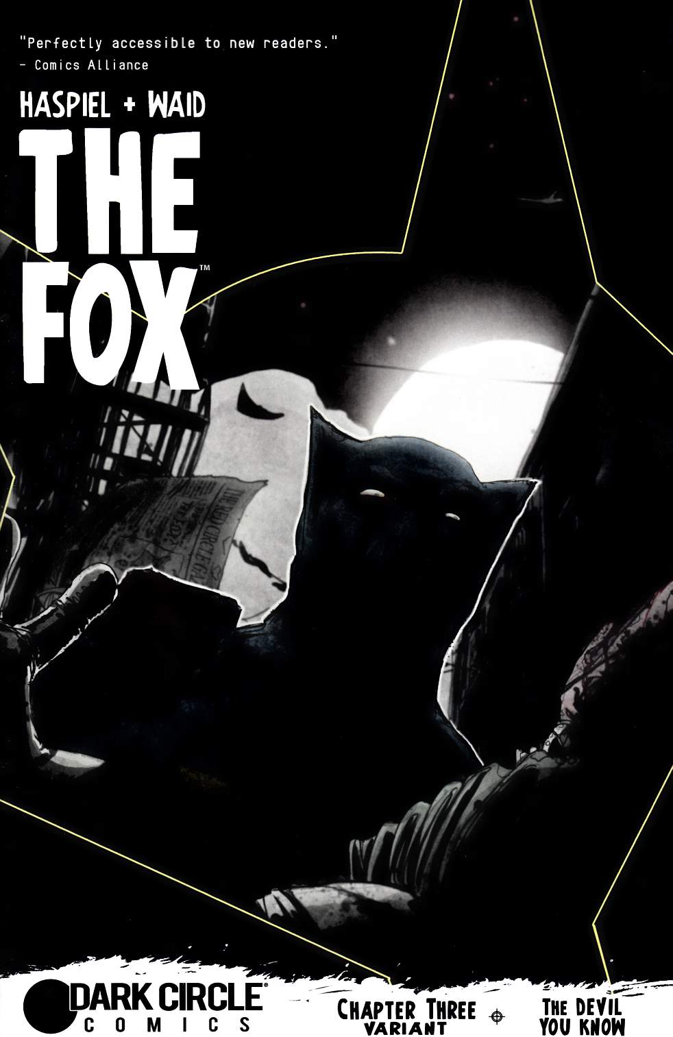 Fox (Dark Circle) #3 T Rex Hunter & Prey Variant Cover [Archie Comic] LARGE
