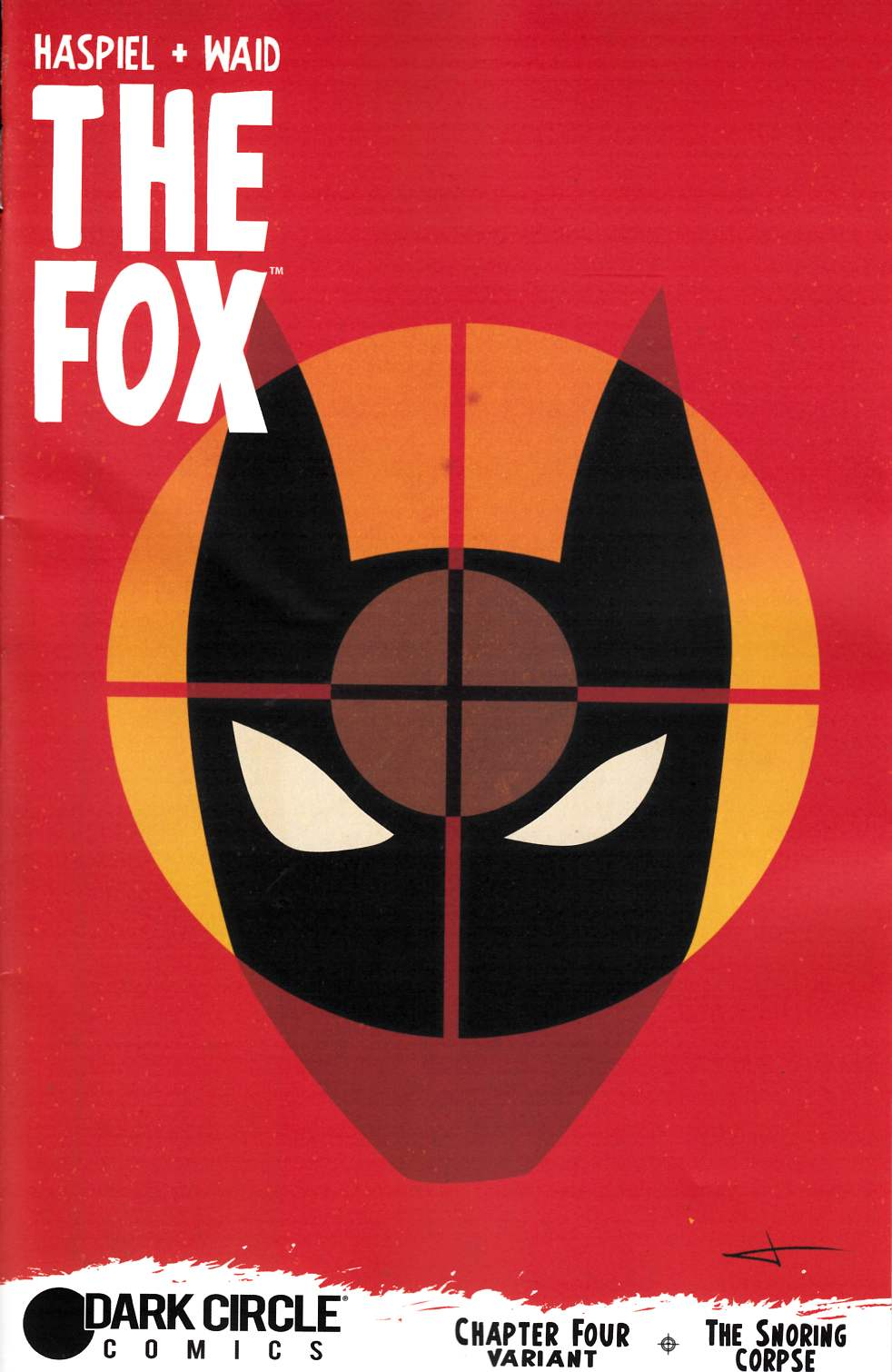 Fox #4 Rodriguez Cover [Archie Comic] LARGE