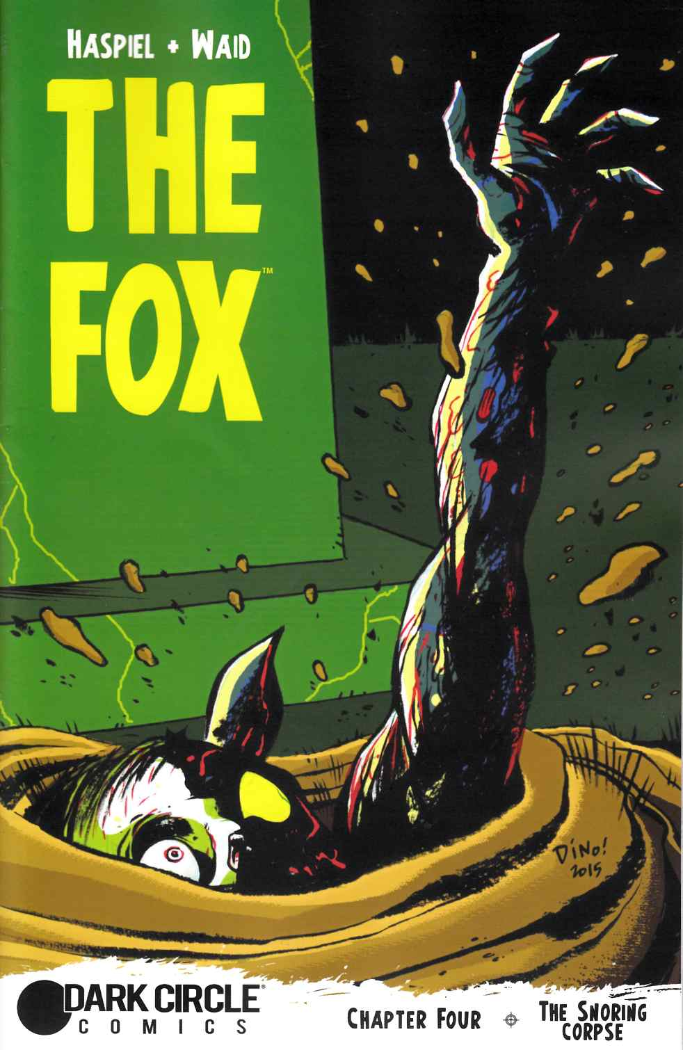 Fox #4 Haspiel Cover [Archie Comic] THUMBNAIL