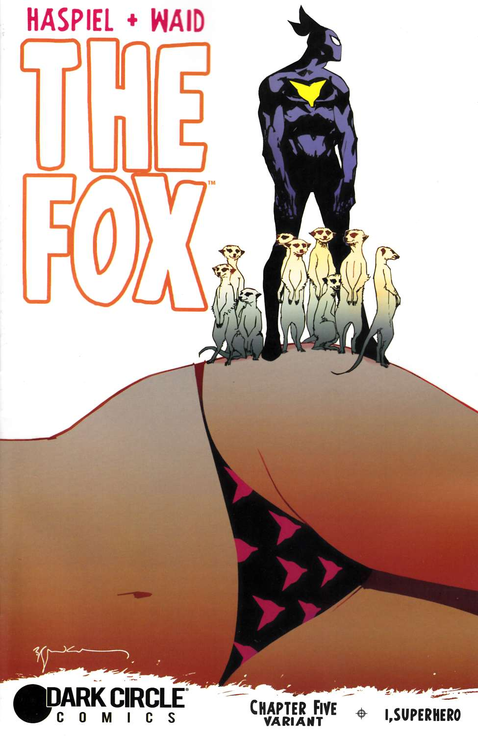 Fox (Dark Circle) #5 Sienkiewicz Cover [Archie Comic] THUMBNAIL