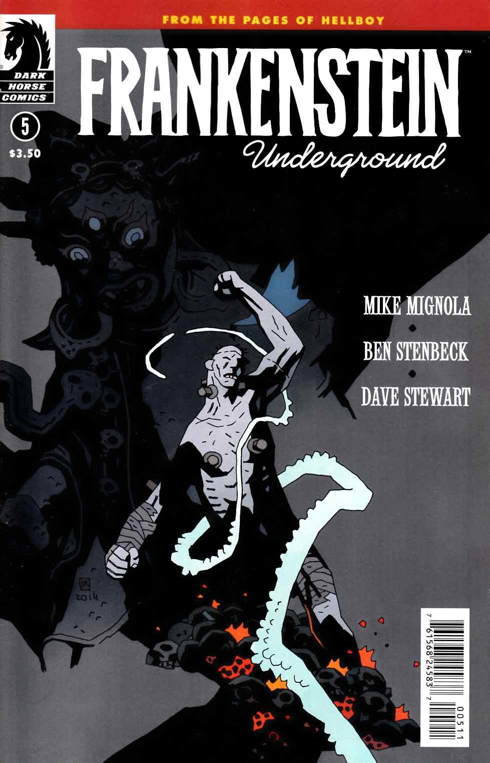 Frankenstein Underground #5 [Dark Horse Comic] LARGE