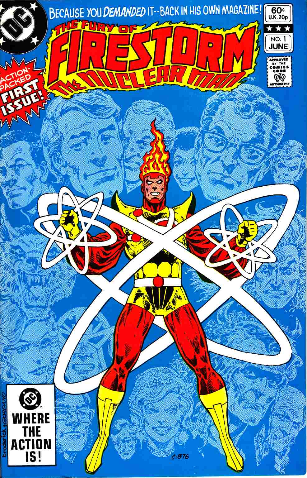 Firestorm #1 Near Mint Minus (9.2) [DC Comic]_THUMBNAIL