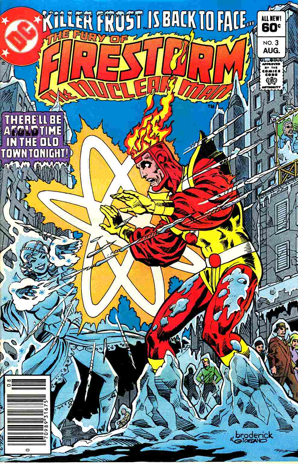 Firestorm #3 Newsstand Edition Near Mint (9.4) [DC Comic]_THUMBNAIL