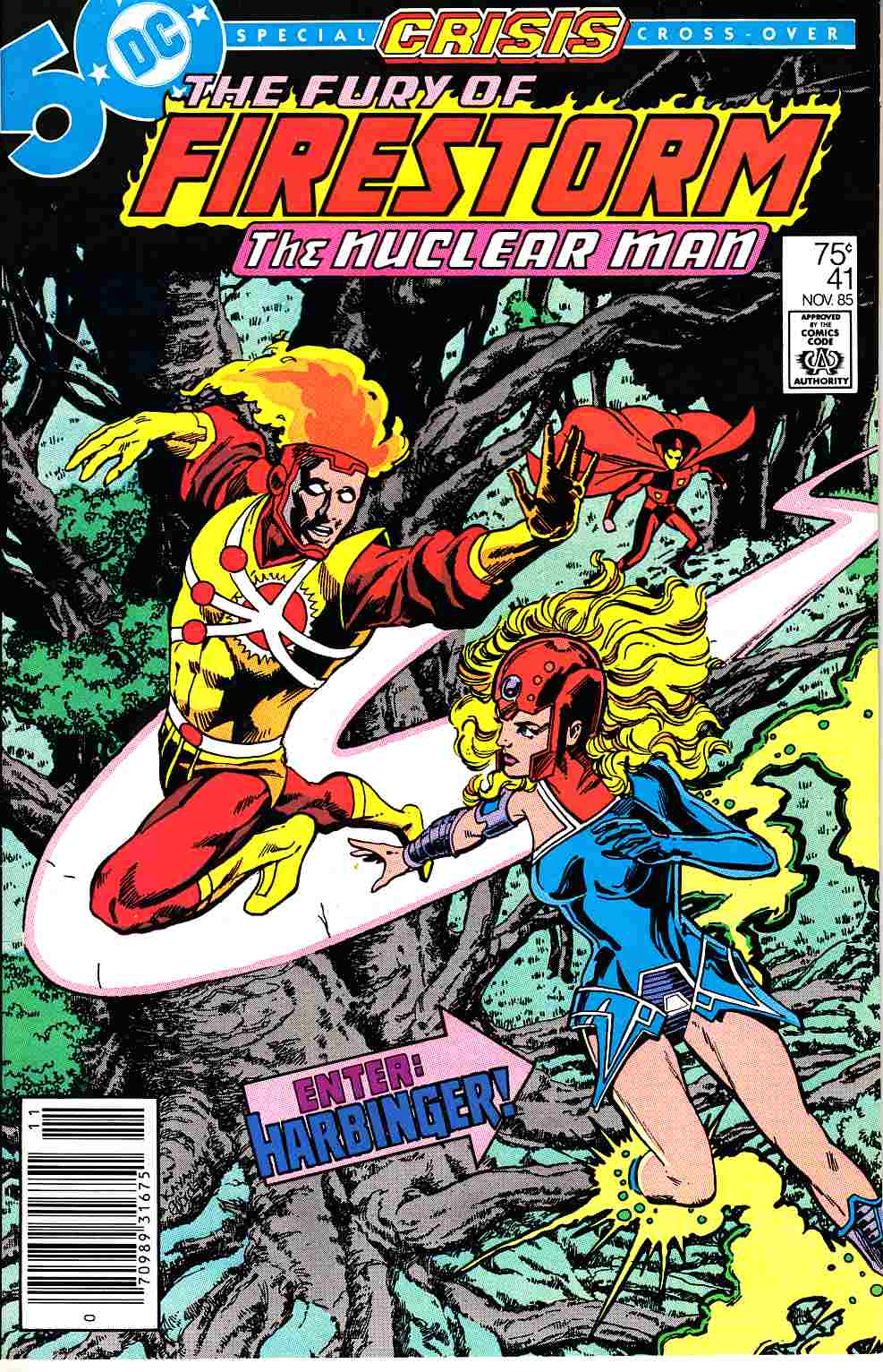 Firestorm #41 Newsstand Edition Very Fine (8.0) [DC Comic]_THUMBNAIL