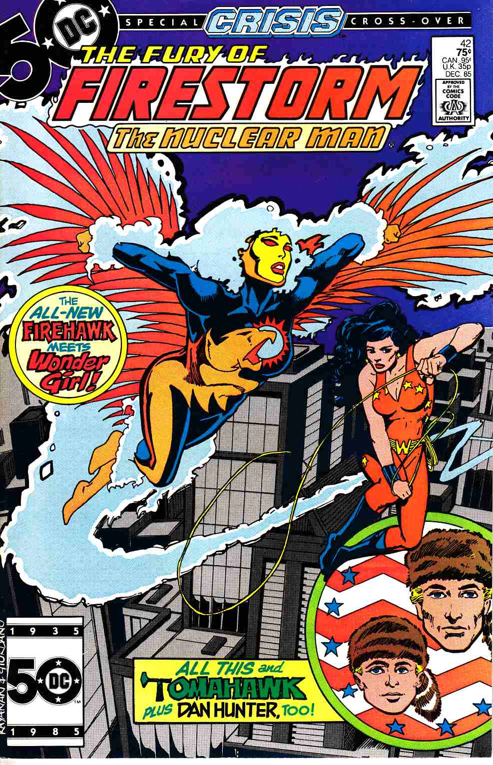 Firestorm #42 Near Mint (9.4) [DC Comic]_THUMBNAIL