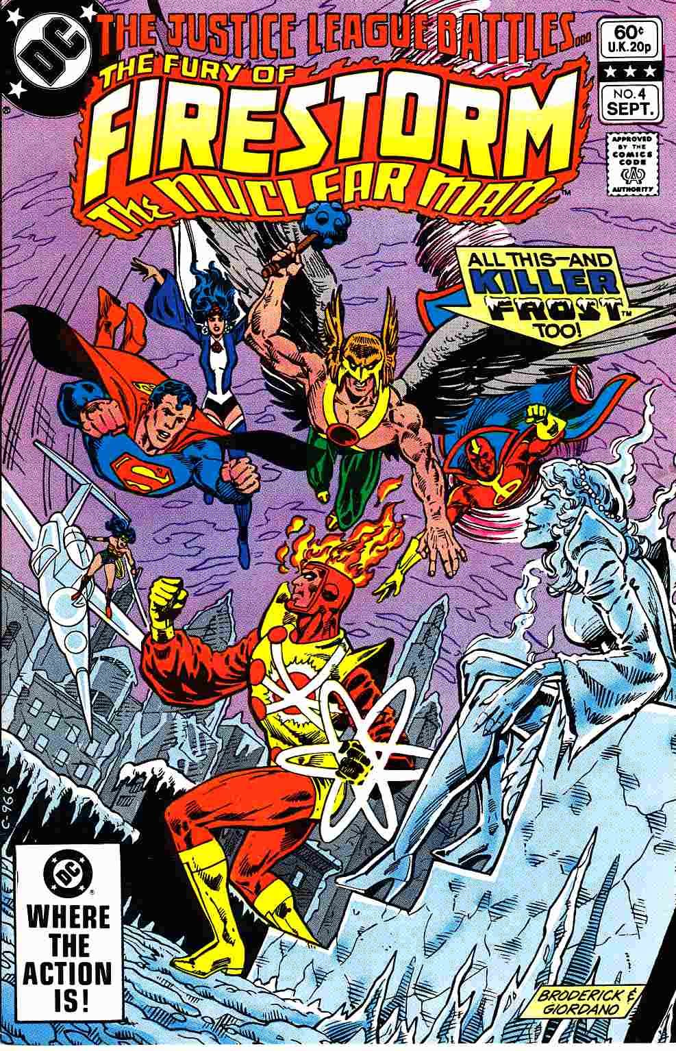 Firestorm #4 Near Mint (9.4) [DC Comic]_THUMBNAIL