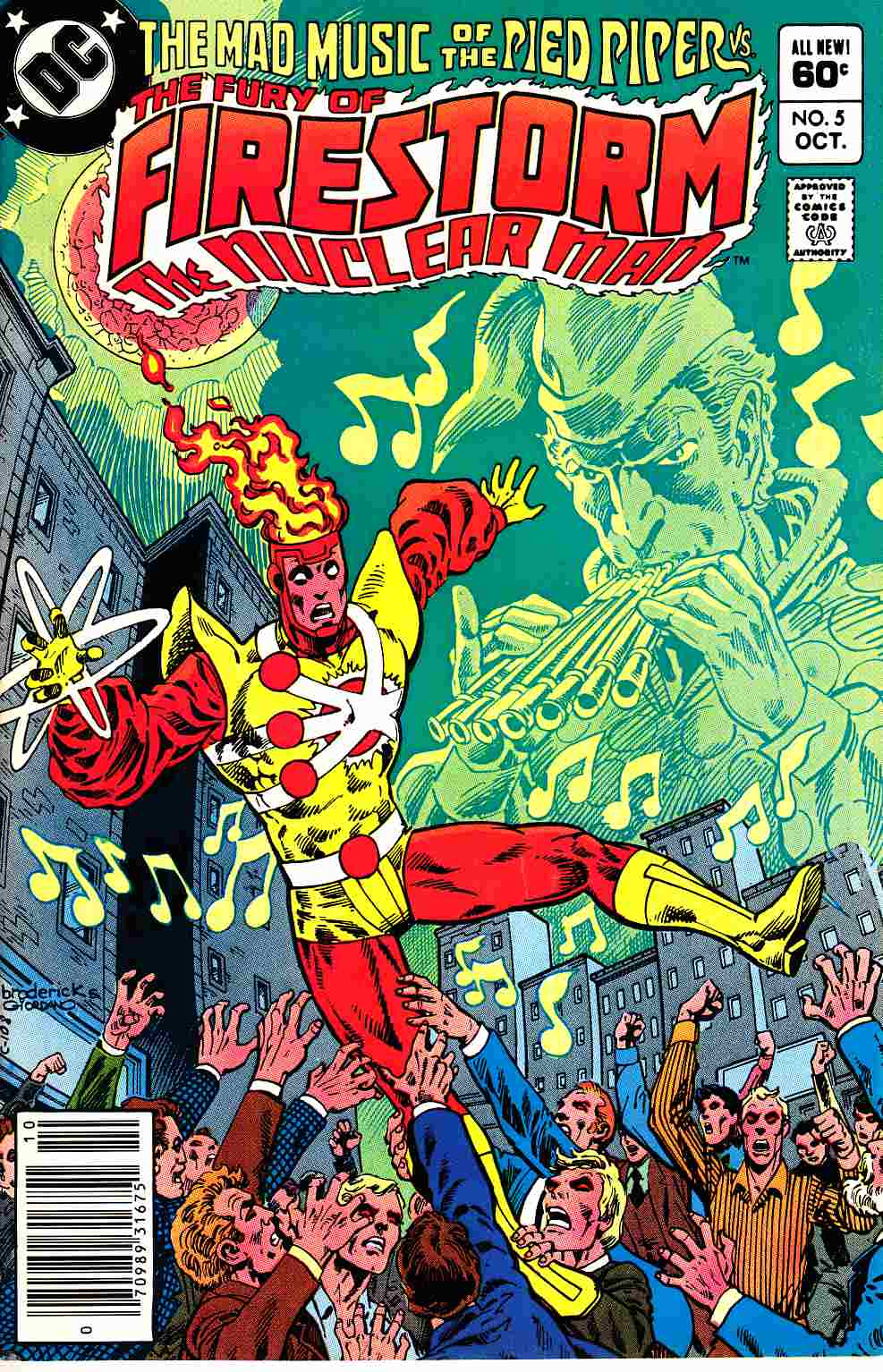 Firestorm #5 Fine Plus (6.5) [DC Comic]_THUMBNAIL