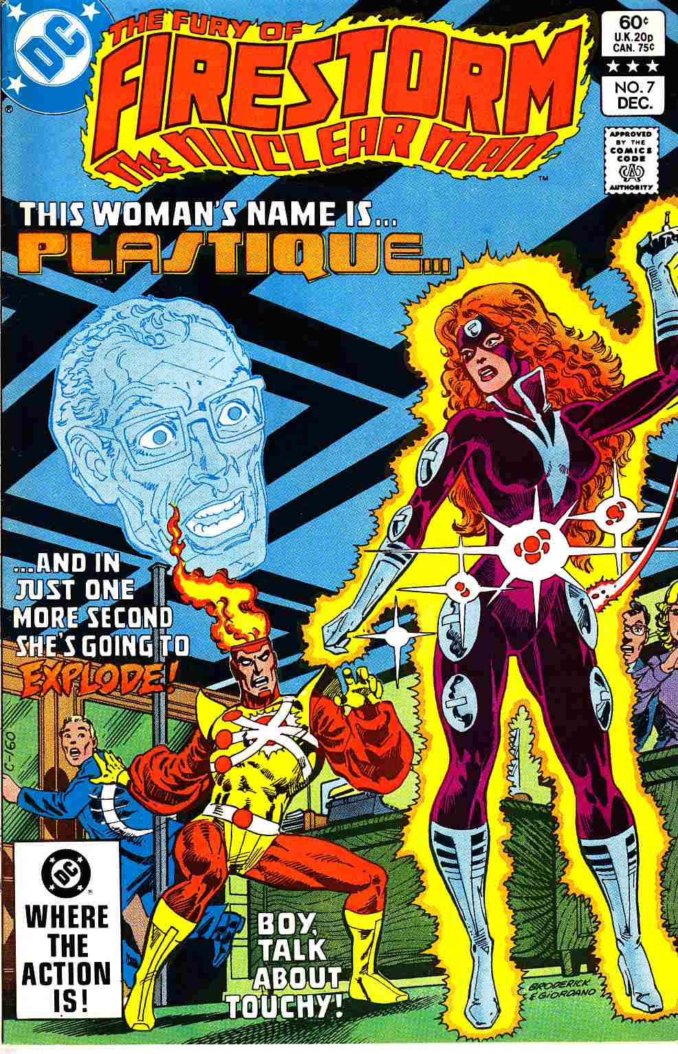 Firestorm #7 Very Fine Minus (7.5) [DC Comic]_THUMBNAIL