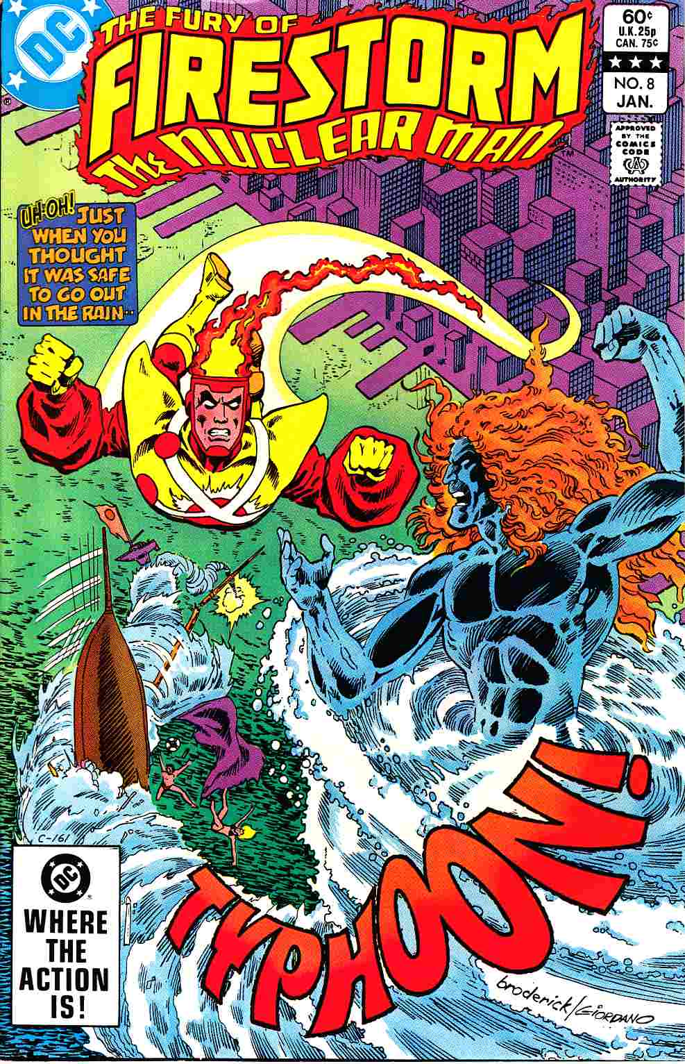 Firestorm #8 Very Fine Minus (7.5) [DC Comic]_THUMBNAIL