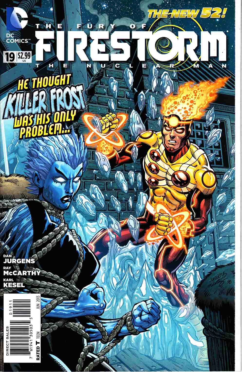 Fury of Firestorm the Nuclear Man #19 [DC Comic] THUMBNAIL