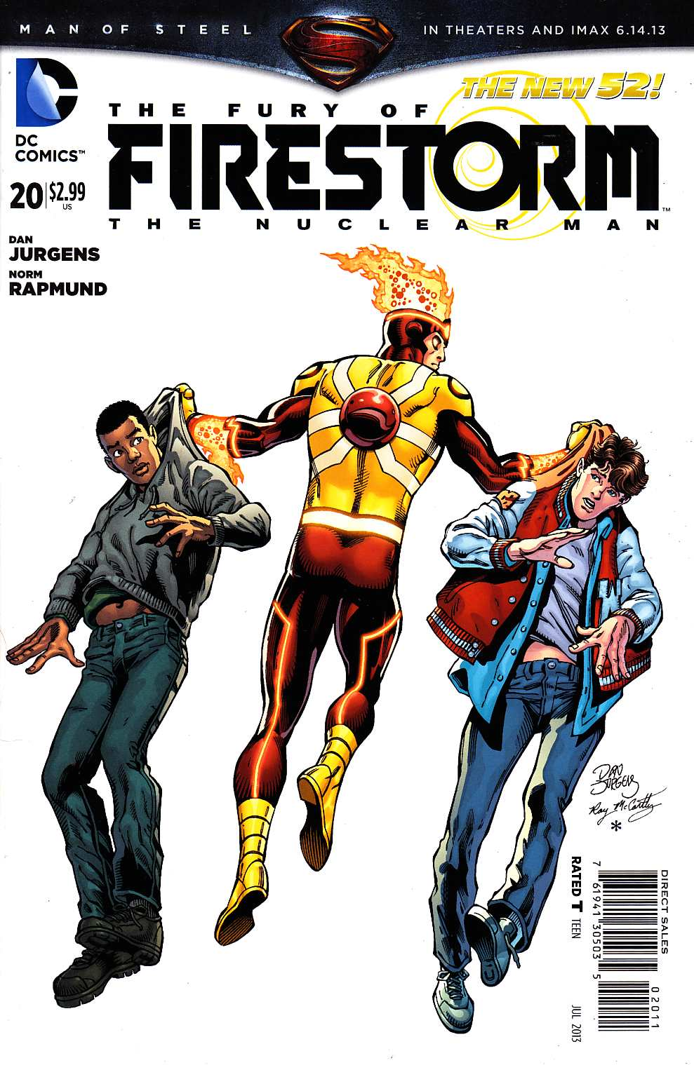 Fury Of Firestorm The Nuclear Man #20 [DC Comic] THUMBNAIL