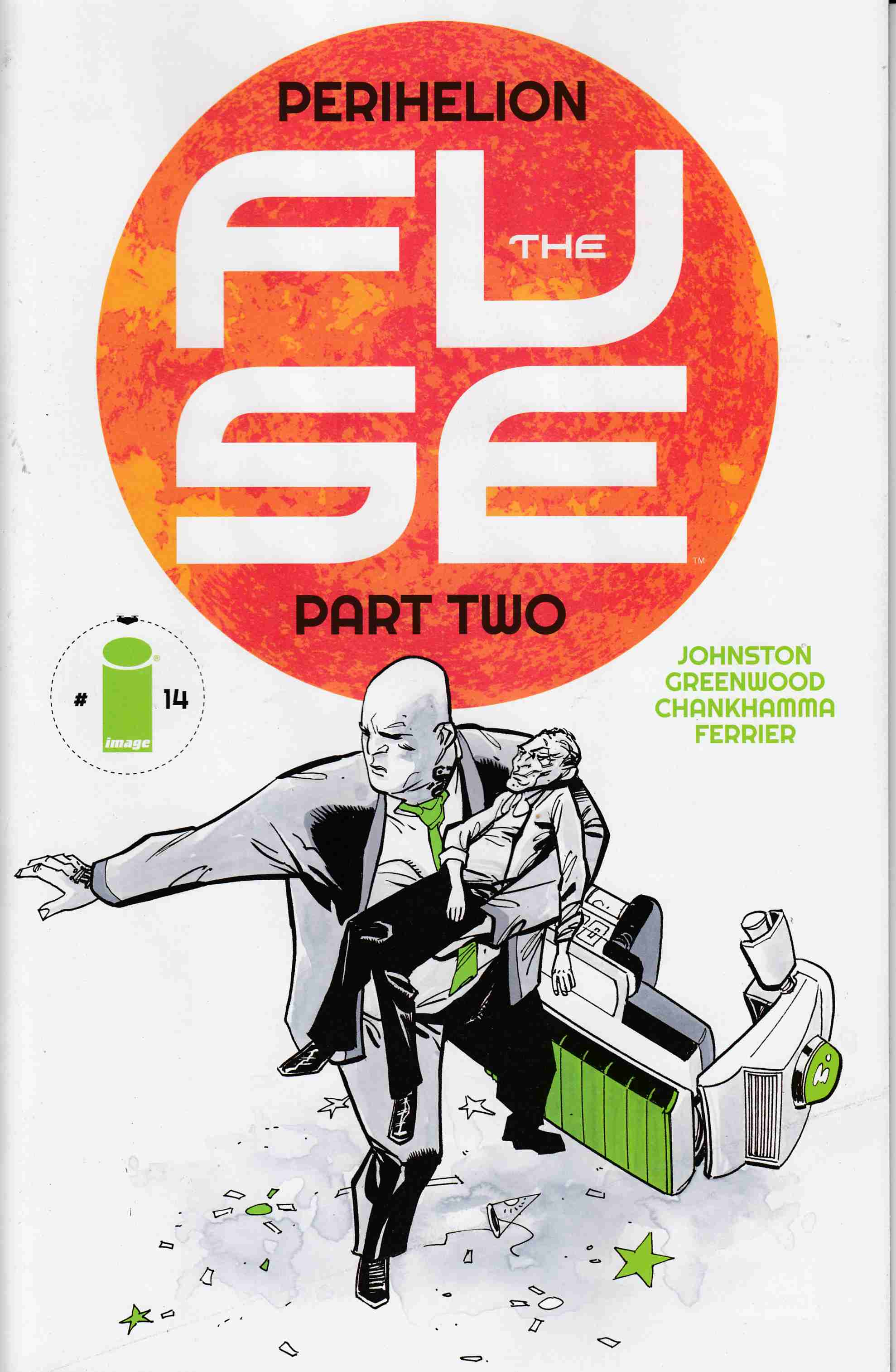 Fuse #14 [Image Comic] LARGE