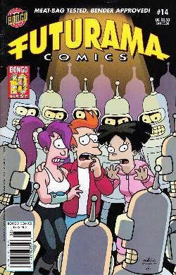Futurama Comics #14 Newsstand [Bongo Comic] LARGE